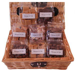 Chocolate Fudge Hamper Gift Basket