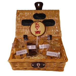 'I Love You' Fudge Hamper