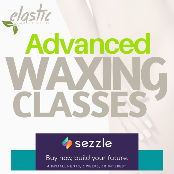 Advanced Waxing Classes (25 hours)