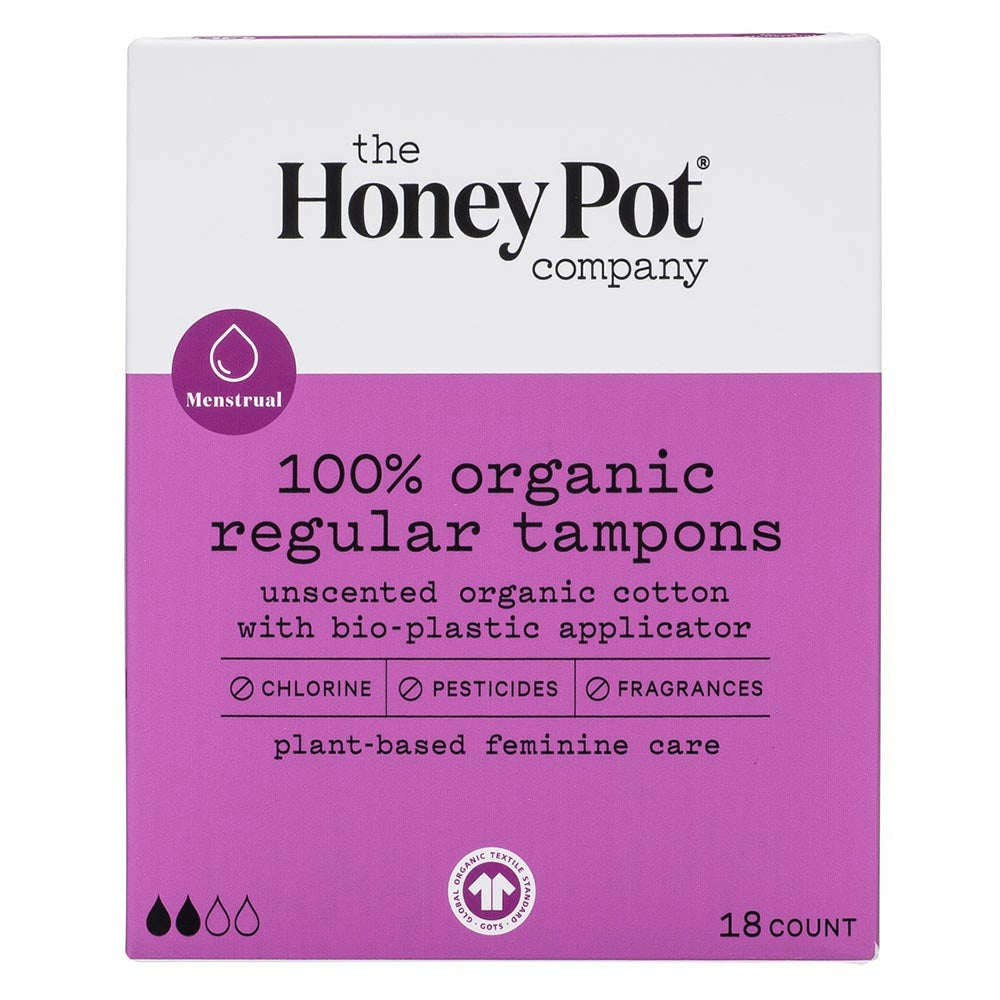 The Honey Pot Organic Regular Tampons