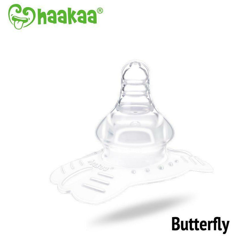 Haakaa Silicone Nipple Shields Butterfly Shape 1pc