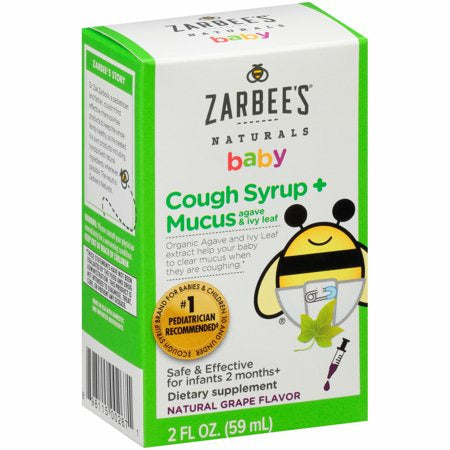 Zarbee's Naturals Baby Cough Syrup and Mucus