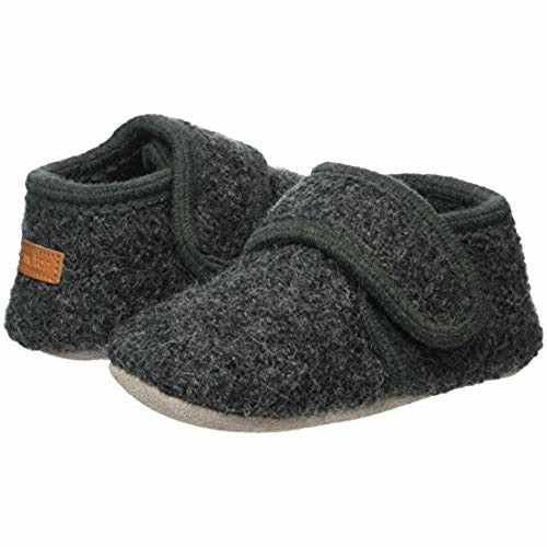 Melton Wool Velcro Shoe