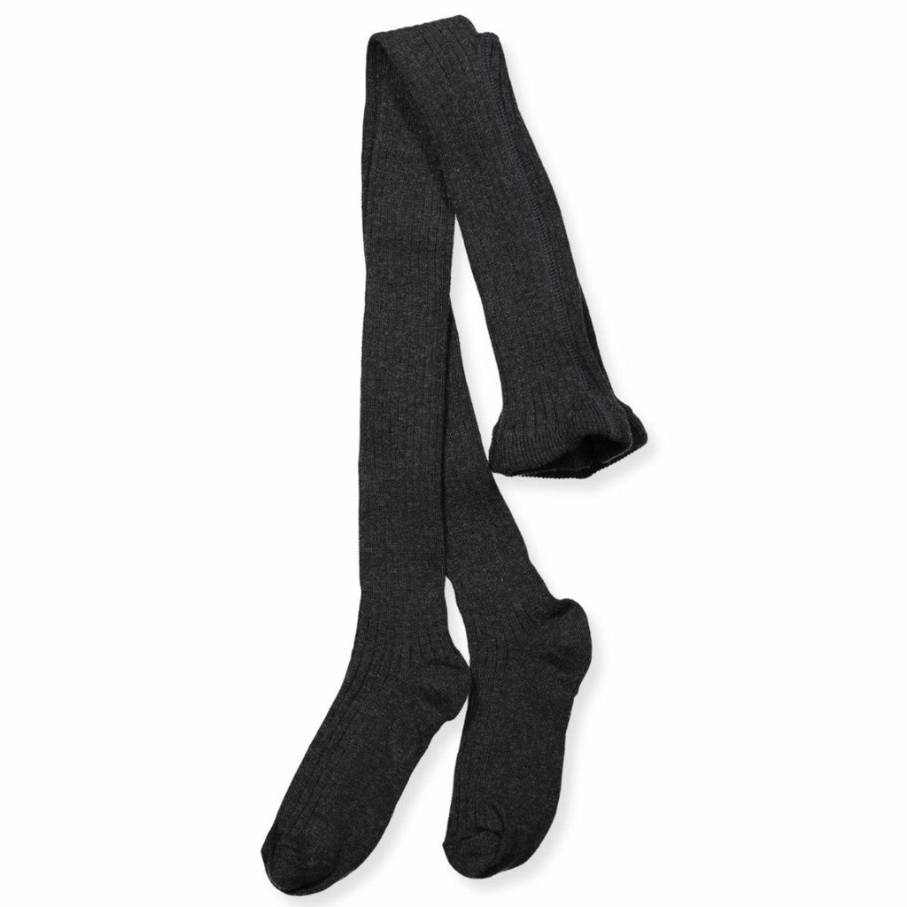 Melton Basic Rib Tights with Adjustable Waist
