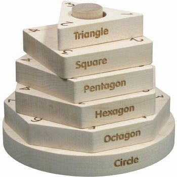 Maple Landmark Shape Stacker