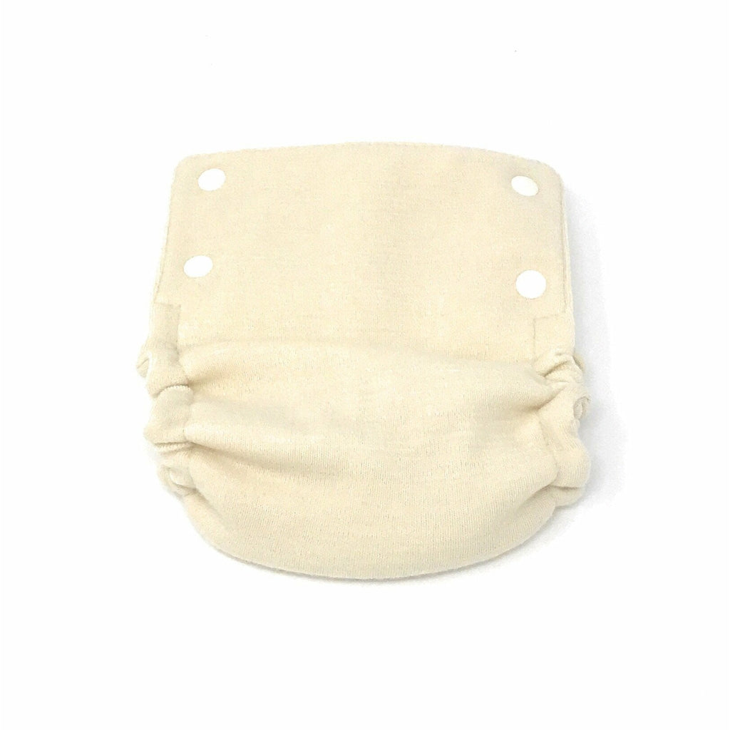 Babee Greens Wool Cloth Diaper Cover Natural