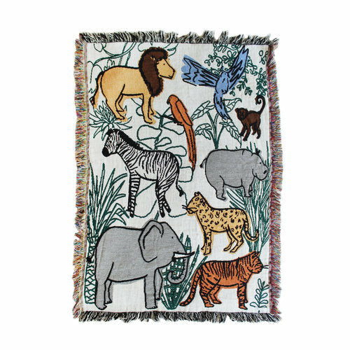 Calhoun & Co Into The Jungle Blanket