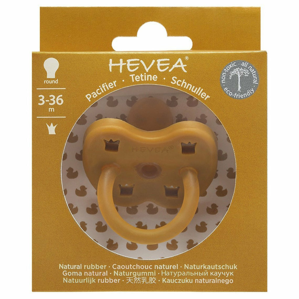 Hevea Orthodontic Pacifier - Turmeric