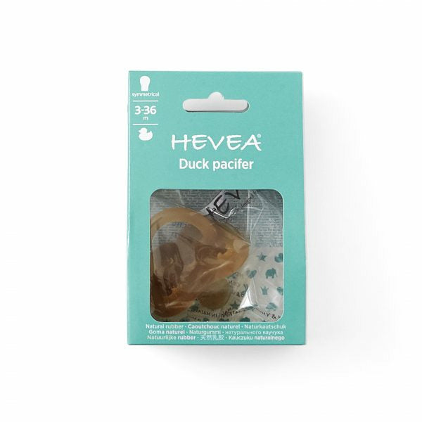 Hevea Pacifier Symmetrical - Ducks