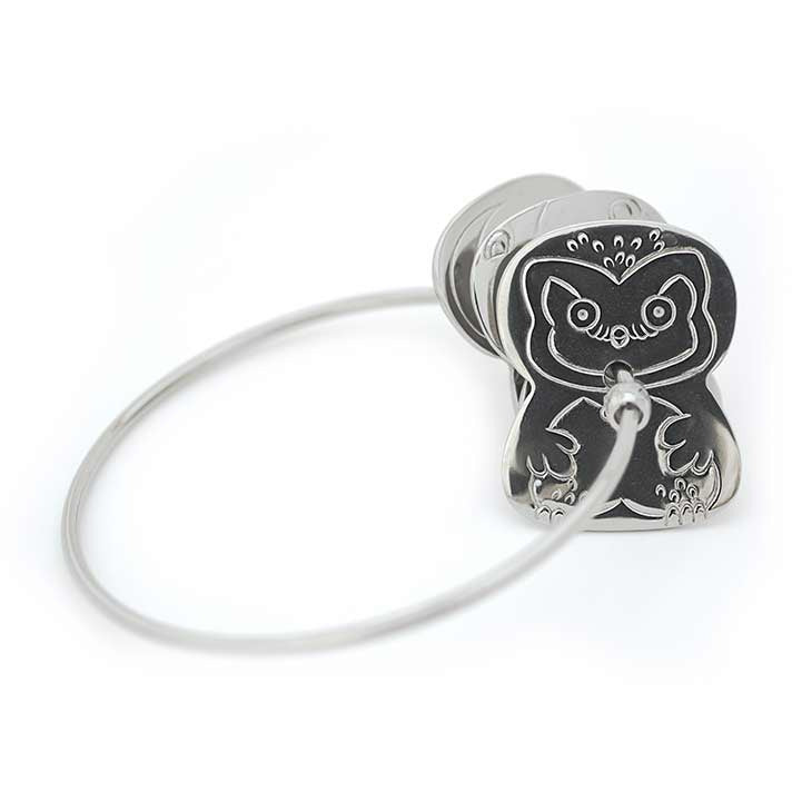 Stainless Steel Key Rattle with Animals