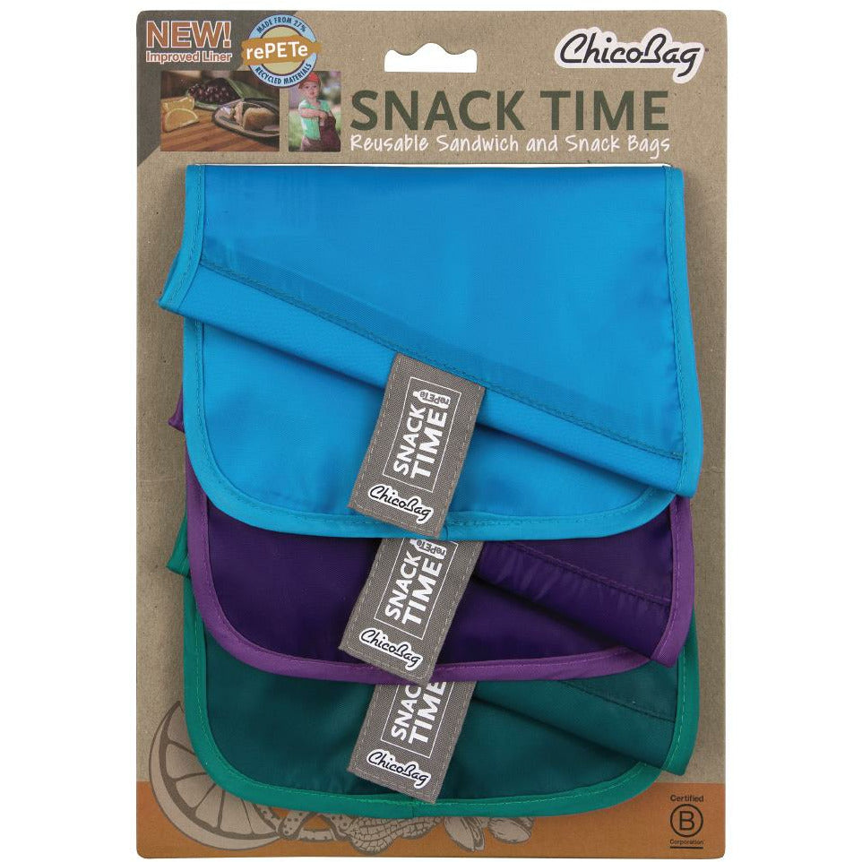 ChicoBag Snack Time Reusable Bags