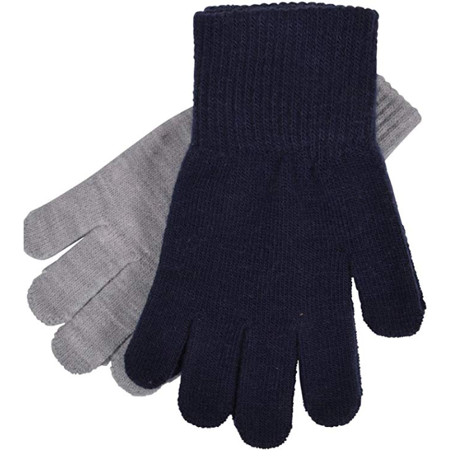 Melton Wool Two Pack Gloves