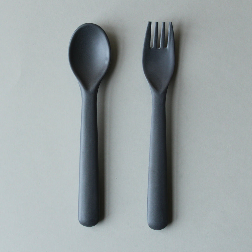 Cink Bamboo Fork & Spoon Set