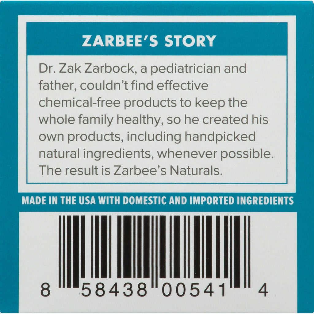 Zarbee's Naturals Baby Soothing Chest Rub
