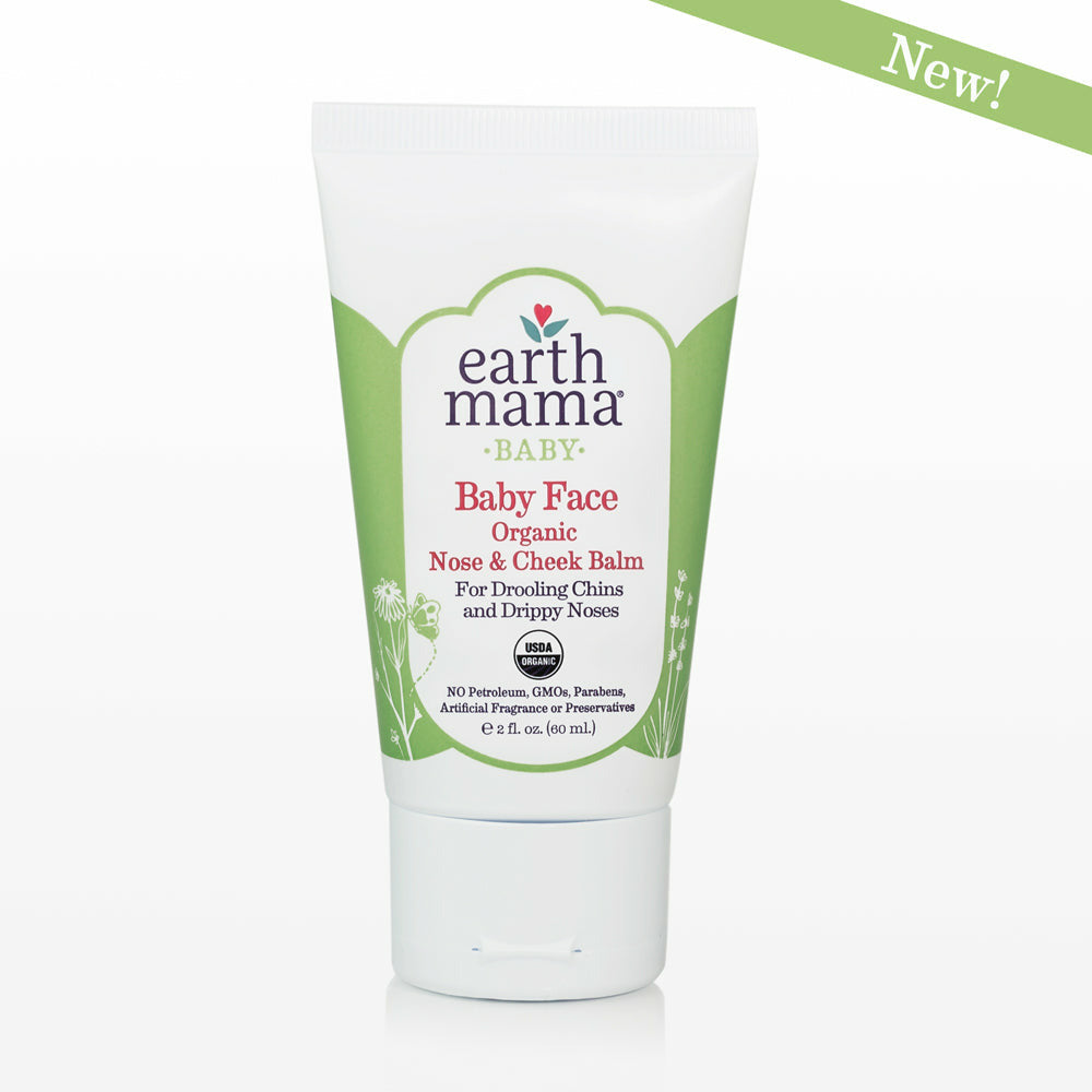 Earth Mama Angel Baby - Baby Face Organic Nose & Cheek Balm
