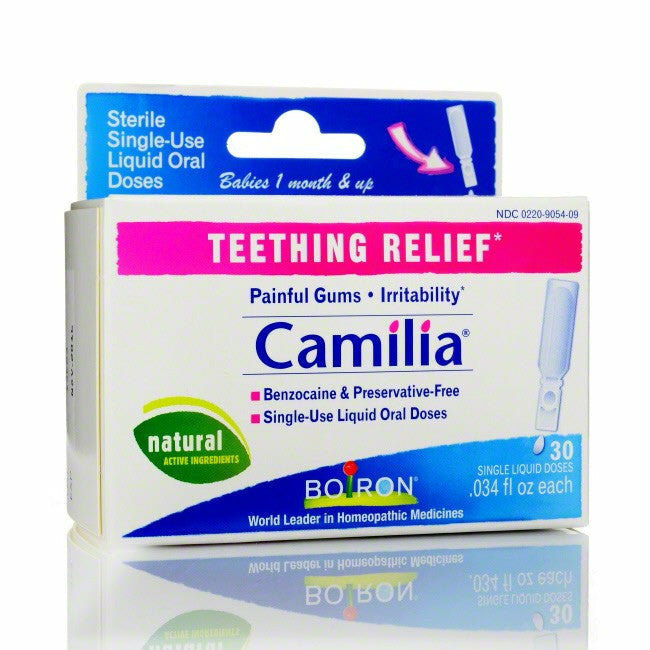 Boiron Homeopathic Medicines - Camilia for Teething Relief