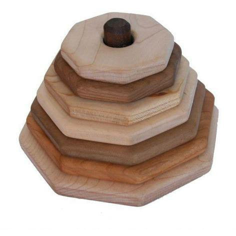 Camden Rose Hardwood Stackers