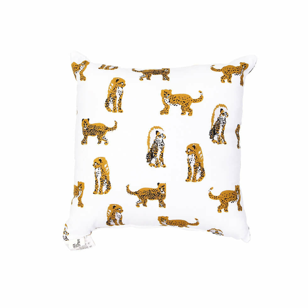 Le Petit Lucas Du Tertre Cushion with Filler - Yellow Jaguar