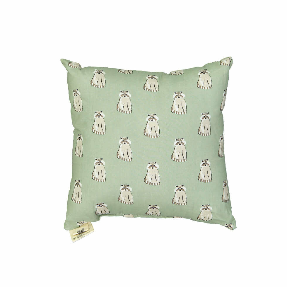 Le Petit Lucas Du Tertre Cushion with Filler - Raccoon