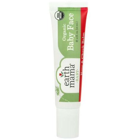 Earth Mama Organics Baby Face Organic Nose & Cheek Balm