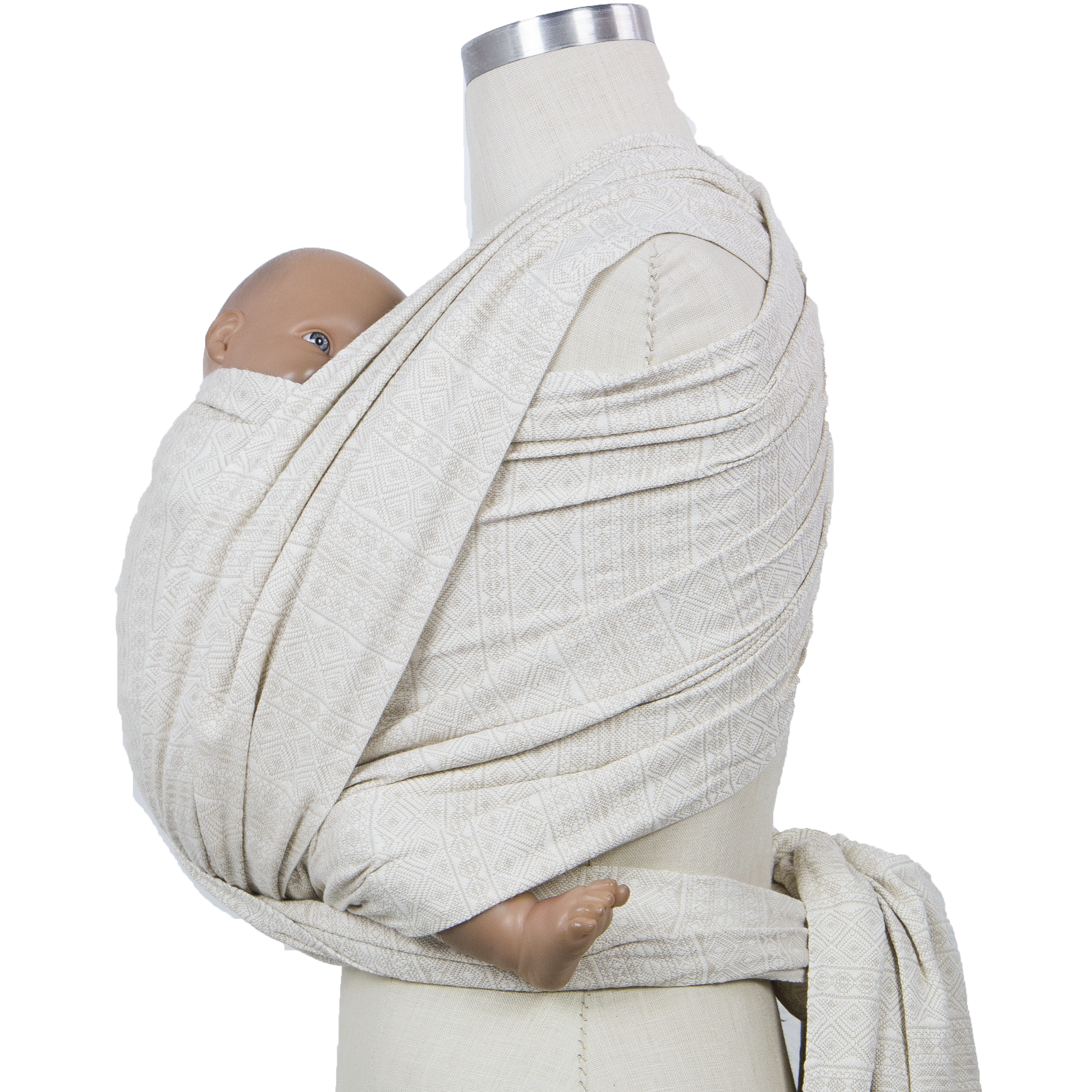 2ef2bdeed4b Didymos Woven Wrap - Prima Natural Cotton Baby Carrier - Wild Was Mama