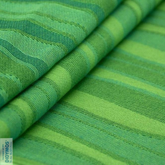 Didymos Woven Wrap Baby Carrier - Waves Lime