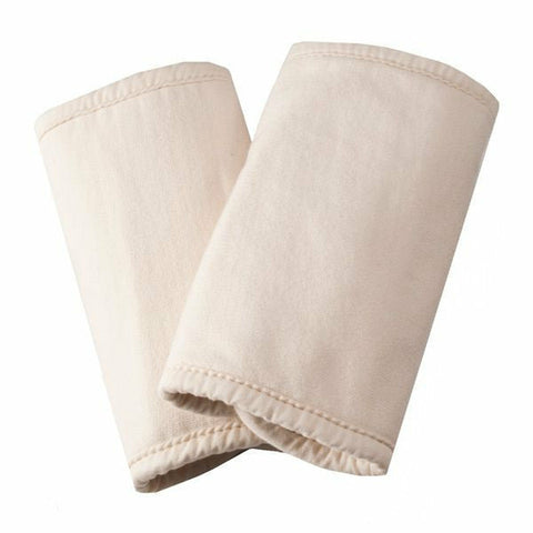 Ergobaby Organic Teething Pad Pair - Natural