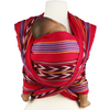 Girasol Woven Wrap Baby Carrier - Mayan Red Ikat No 4