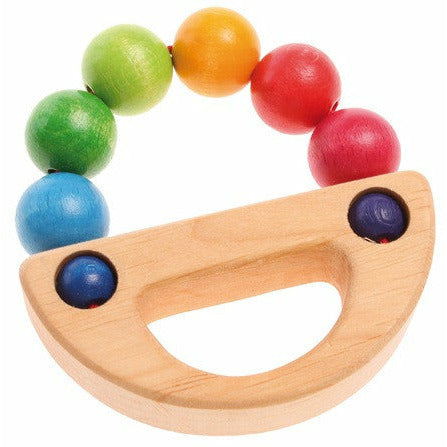 Grimm's Toys Rainbow Boat Grasping Toy