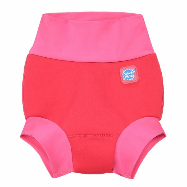 Splash About New Happy Nappy Swim Diaper - Pink Geranium