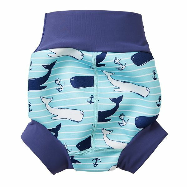 Splash About New Happy Nappy Swim Diaper - Vintage Moby