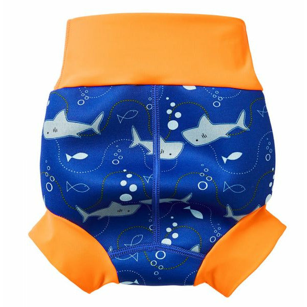 Splash About New Happy Nappy Swim Diaper - Shark Orange