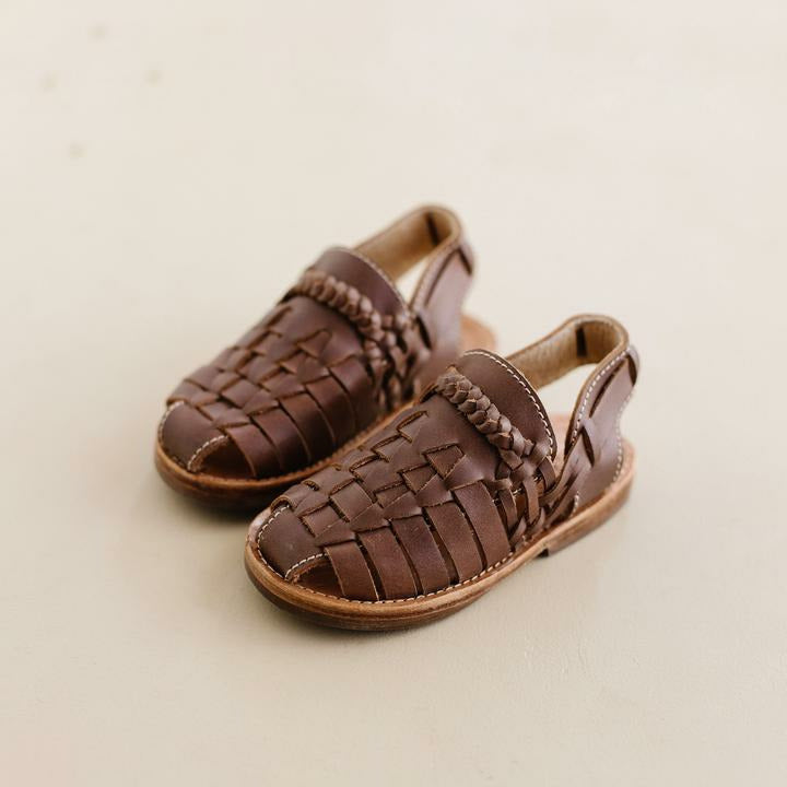 The Humble Sole - Nikko Sandal Brown Leather