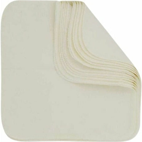 Imse Vimse Flannel Washable Wipes 12 Pack