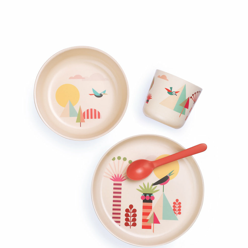 Ekobo 4pc Bambino Illustrated Kid Set
