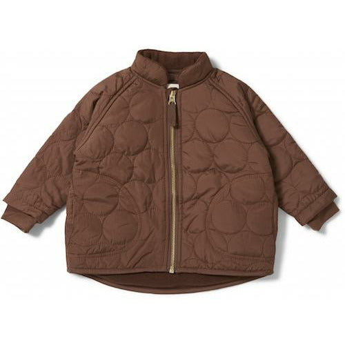 Konges Sløjd Thermo Jacket Crinkle - Mocca