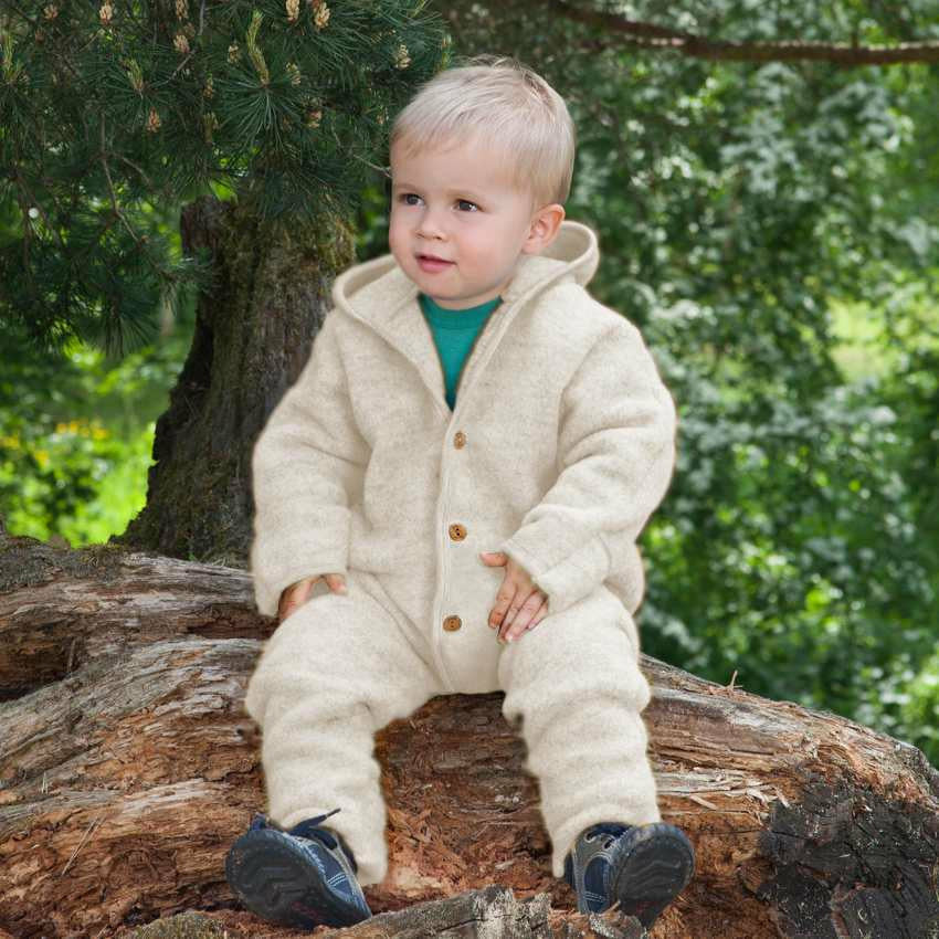 Engel Wool Overalls with Hood