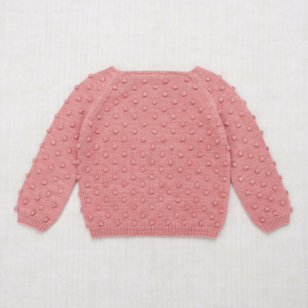 Misha & Puff Summer Popcorn Sweater - Rose Blush