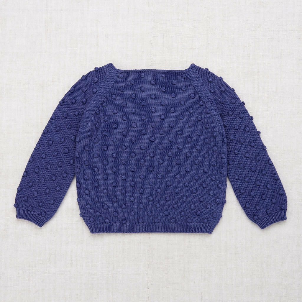 Misha & Puff Summer Popcorn Sweater - Blue Violet
