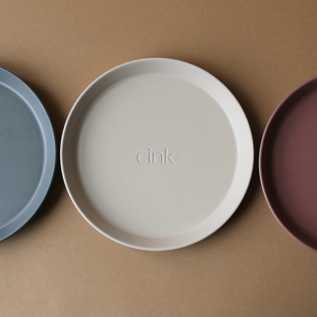 Cink Bamboo Plate 3 Pack