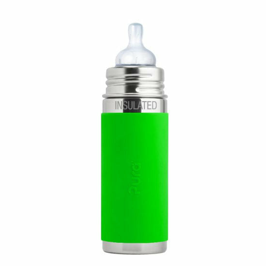 Pura Kiki Stainless Insulated Infant Bottle