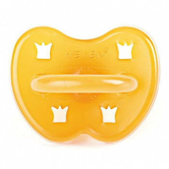Hevea Pacifier Round - Crown