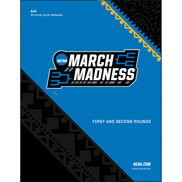 2018 NCAA Division I Men's Basketball First and Second Rounds Program