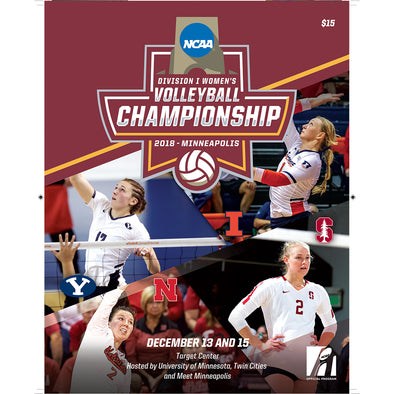 2018 NCAA Division I Women's Volleyball Championship Program