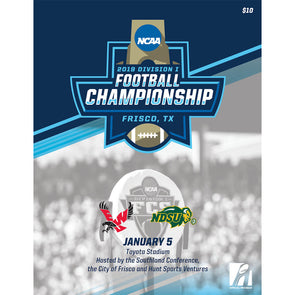 2019 NCAA Division I Football FCS Championship Program