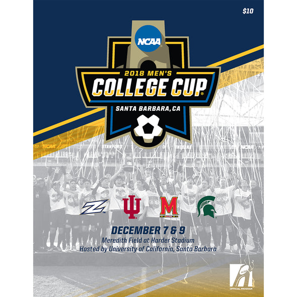 2018 NCAA Division I Soccer Men's College Cup Program