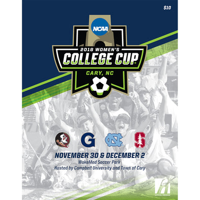 2018 NCAA Division I Soccer Women's College Cup Program
