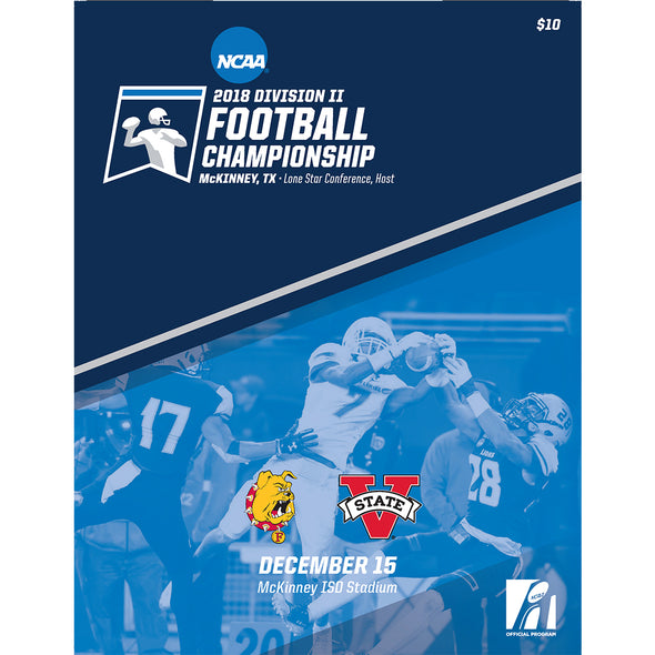 2018 NCAA Division II Football Championship Program