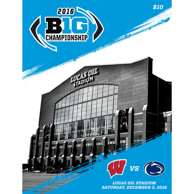 2016 Big Ten Football Championship Program