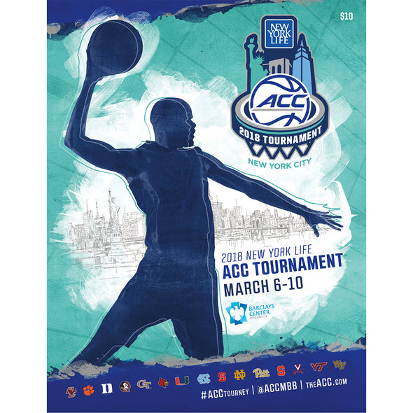 2018 ACC Men's Basketball Tournament Program